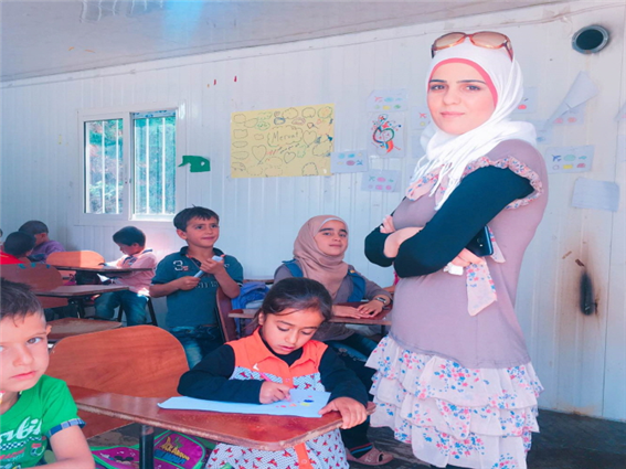 The Story of Mervat, Teacher of Lebanon Miral School